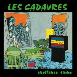 """LES CADAVRES """"Existence Saine"""" CD"""