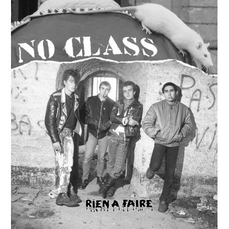 """NO CLASS """"Rien à faire"""" LP+CD - Vinyle blanc"""