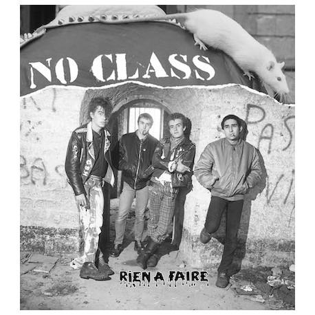 """NO CLASS """"Rien à faire"""" LP+CD - Vinyle marbré"""