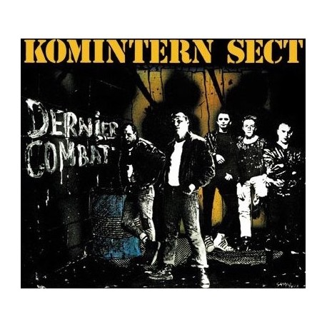 "KOMINTERN SECT ""Dernier Combat"" LP"