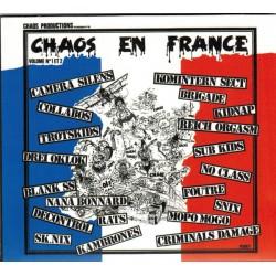 "CHAOS EN FRANCE ""Volume 1 & 2"" CD"