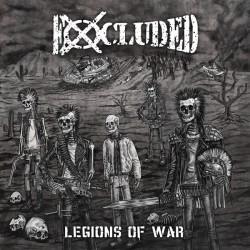 """EXCLUDED """"Legions of War"""" LP"""