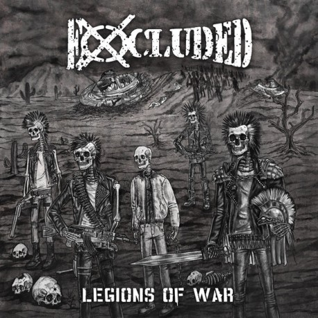 "EXCLUDED ""Legions of War"" LP"