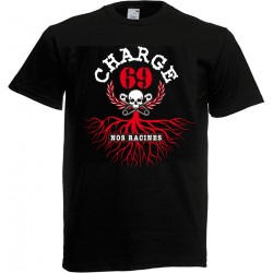 """CHARGE 69 """"Nos Racines"""" TEE SHIRT HOMME"""
